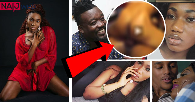 Wendy Shay caught in bed nakked with Bullet by girlfriend