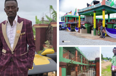 Kwadwo Nkansah Lil Win Explains Why He Charges Just Ghc50 and Ghc100 As Fees For Students At His School