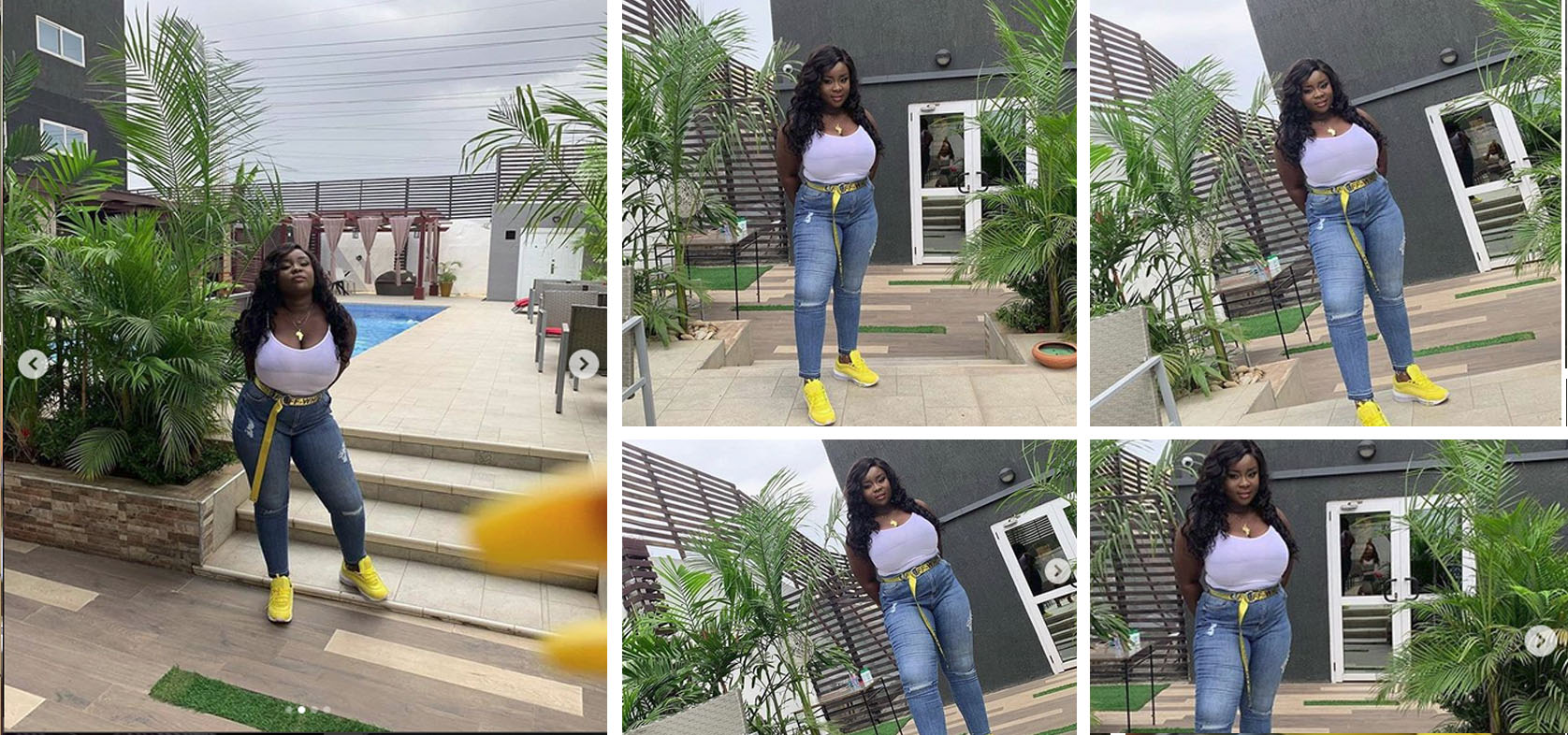Maame Serwaa Under Heavy Fire For Her Looks And Fashion Sense in New Photo