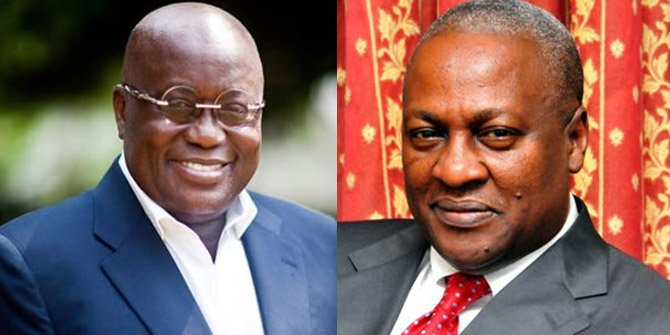 Nana Addo And Mahama