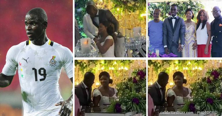 Jonathan Mensah Wedding Pictures