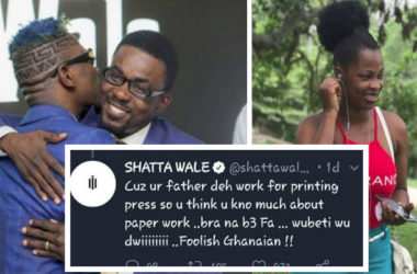 Shatta Wale Insult A Fan