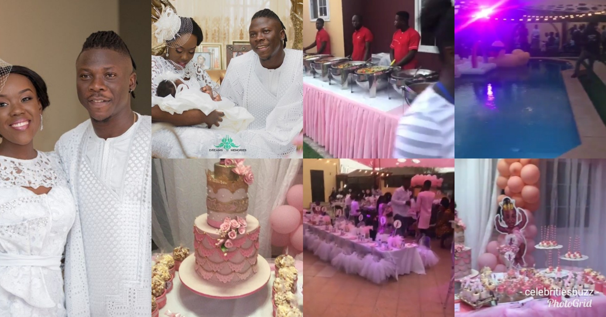 Stonebwoy Celebrate His Daughters Birthday