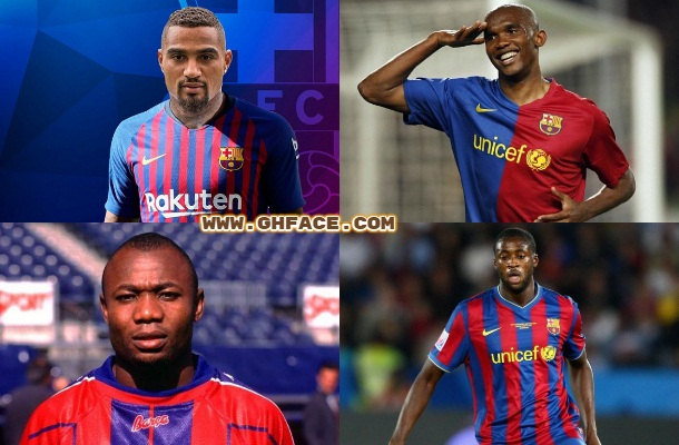 14 African Players Who Play For Barcelona