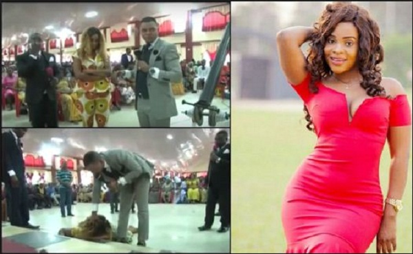 Benedicta Gafah And Bishop Obinim