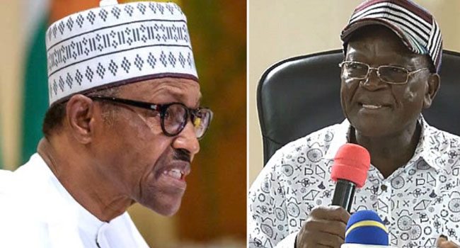 Buhari warns Ortom