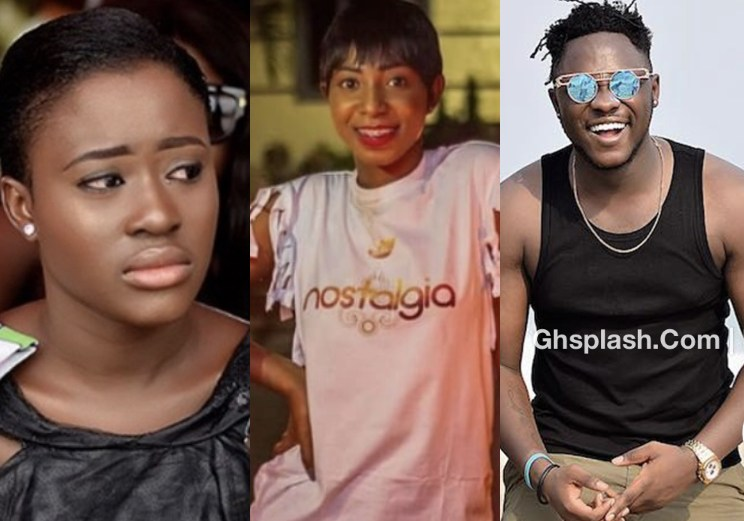 Fella Makafui Catches Medikal On Bed