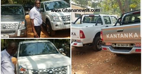 Forestry Commission outdoors 2 new Kantanka vehicles