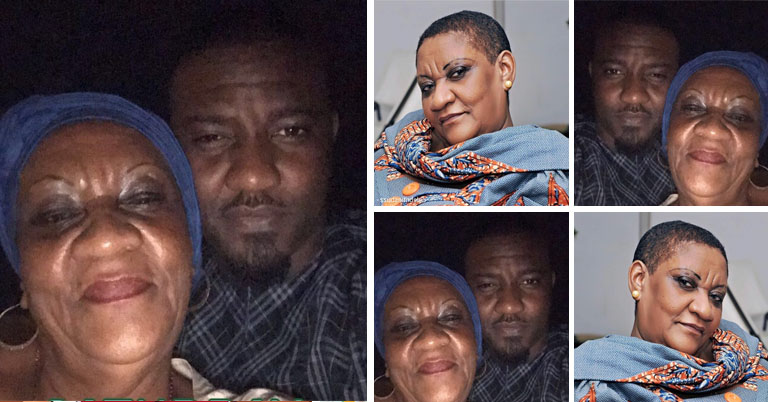 John Dumelo Mother Birthday