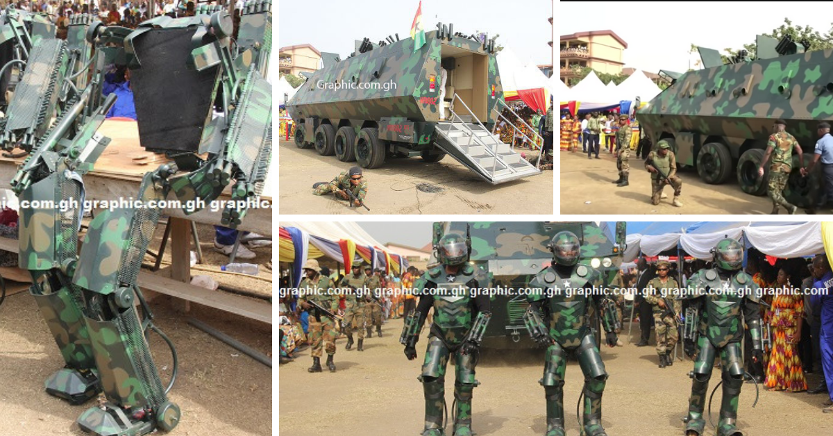 Kantanka Military Inventions