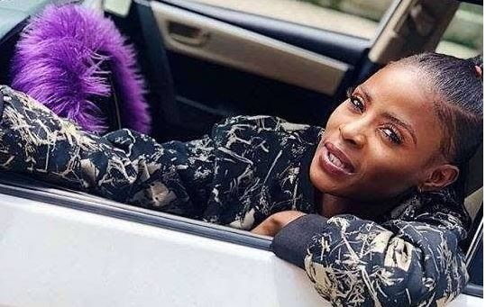 #BBNAIJA : Here's How Khloe's Car Looks A Month After Crashing It