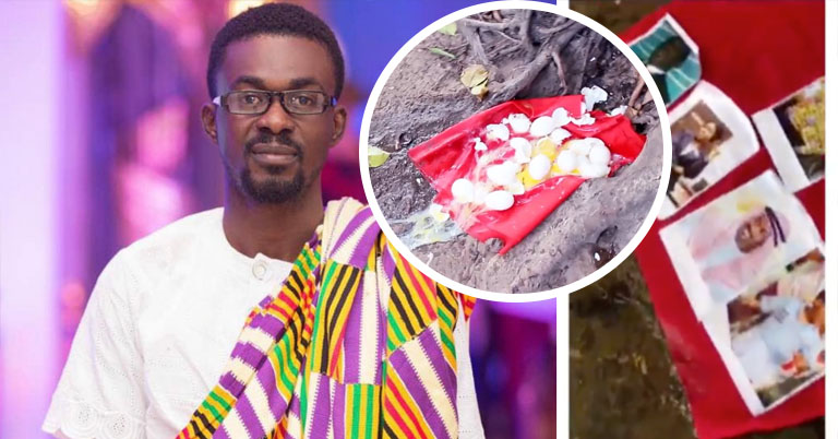 A Menzgold Customer Has Taken Nana Appiah Mensah And His Son To A Shrine (Video)