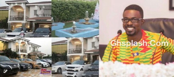 Nana Appiah Mensah Trasacco Valley Mansion & Luxury Cars