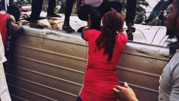 Nigerian lady and 16 others escape death