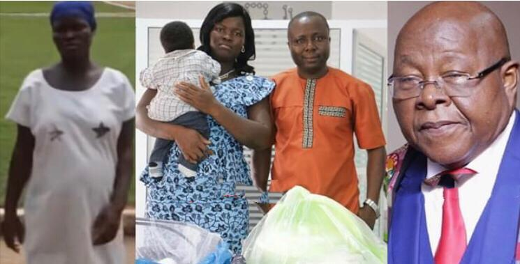 Photos: Pregnant prisoner saved by Speaker of Parliament gives birth