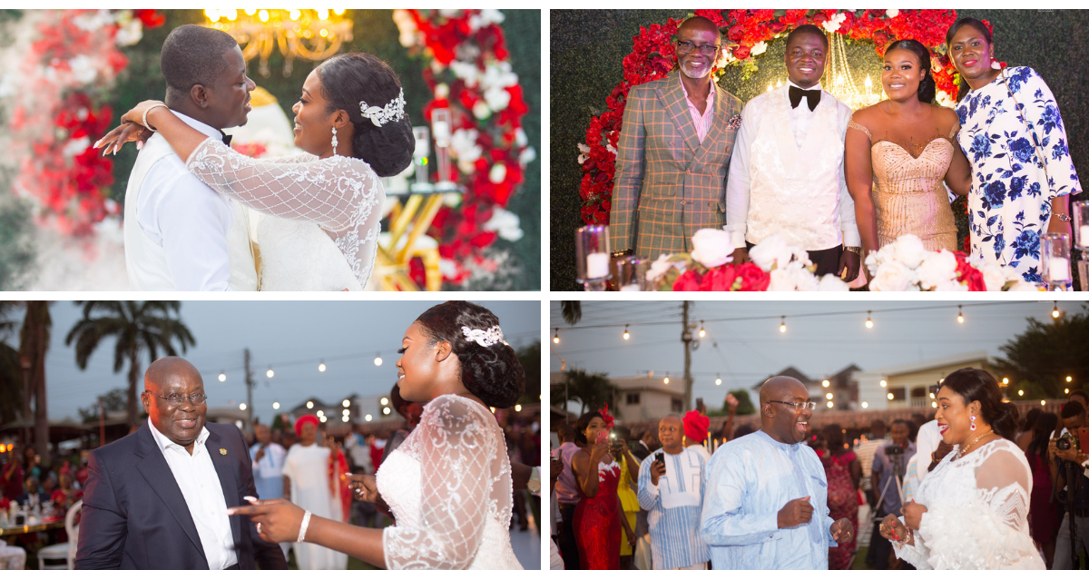 Rebecca And Kofi Agyapong Wedding Pictures