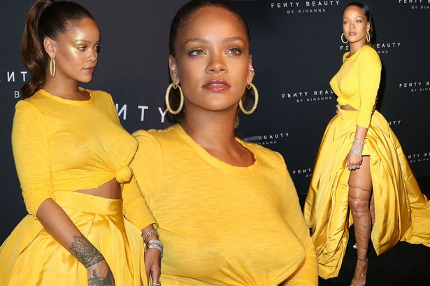 Rihanna Shows OFF Her New Style