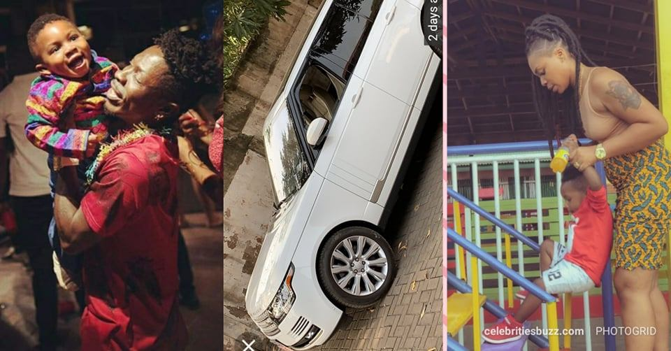Shatta Michy Allegedly Runs Away With Shatta Wale's New Range Rover, Documents & Majesty