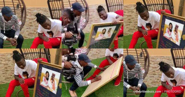 Stonebwoy Receives Masterpiece