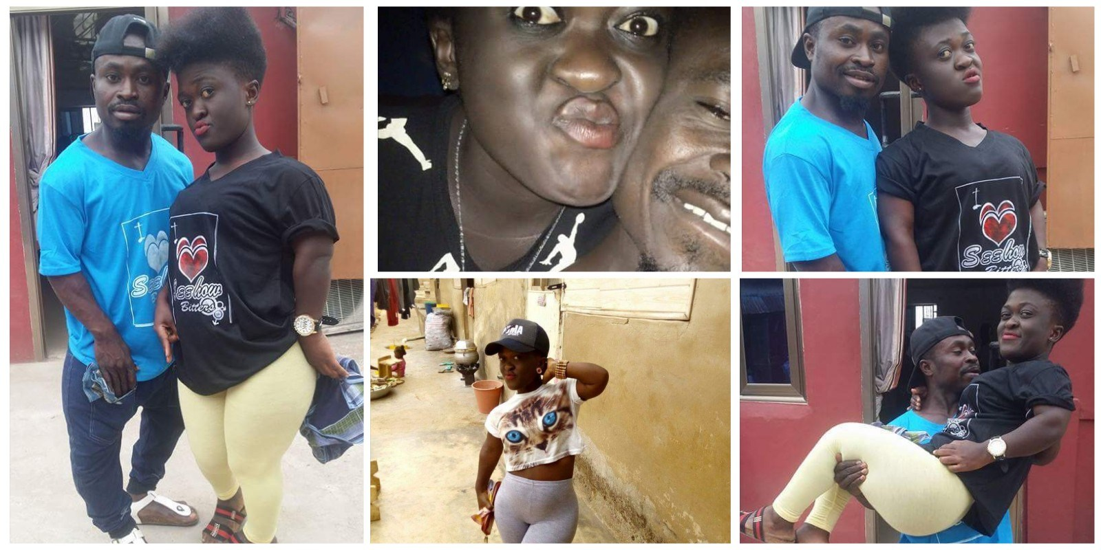 """Bae Came To Visit Me At Work"" — Ghanaian Lady Shares Romantic Photos With Her Bae"