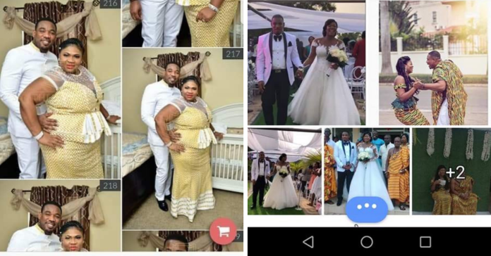 Drama On Social Media As US Borga Abandons His Wife In US To Secretly Marry Another Woman In Ghana