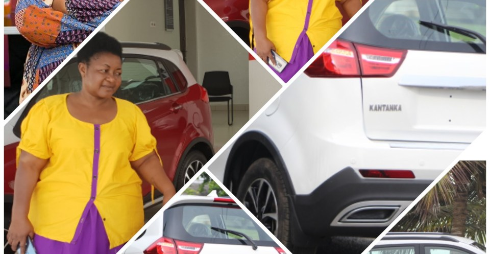 christian Awuni buys Kantanka Vehicle