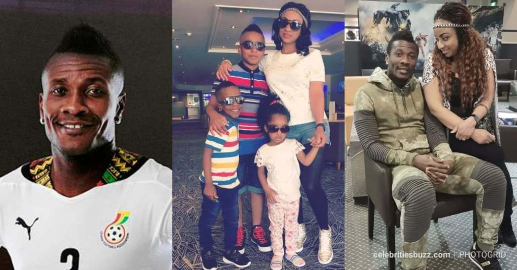 DNA Test results prove that Asamoah Gyan is the father of all his 3 children