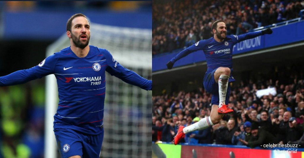 Gonzalo Higuain Scored His First Goal For Chelsea