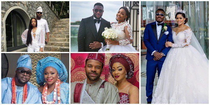 Nigerian Celebrities Who Got Married In 2018