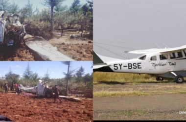 Pilot and other occupants perished in the Kenyan plane crash