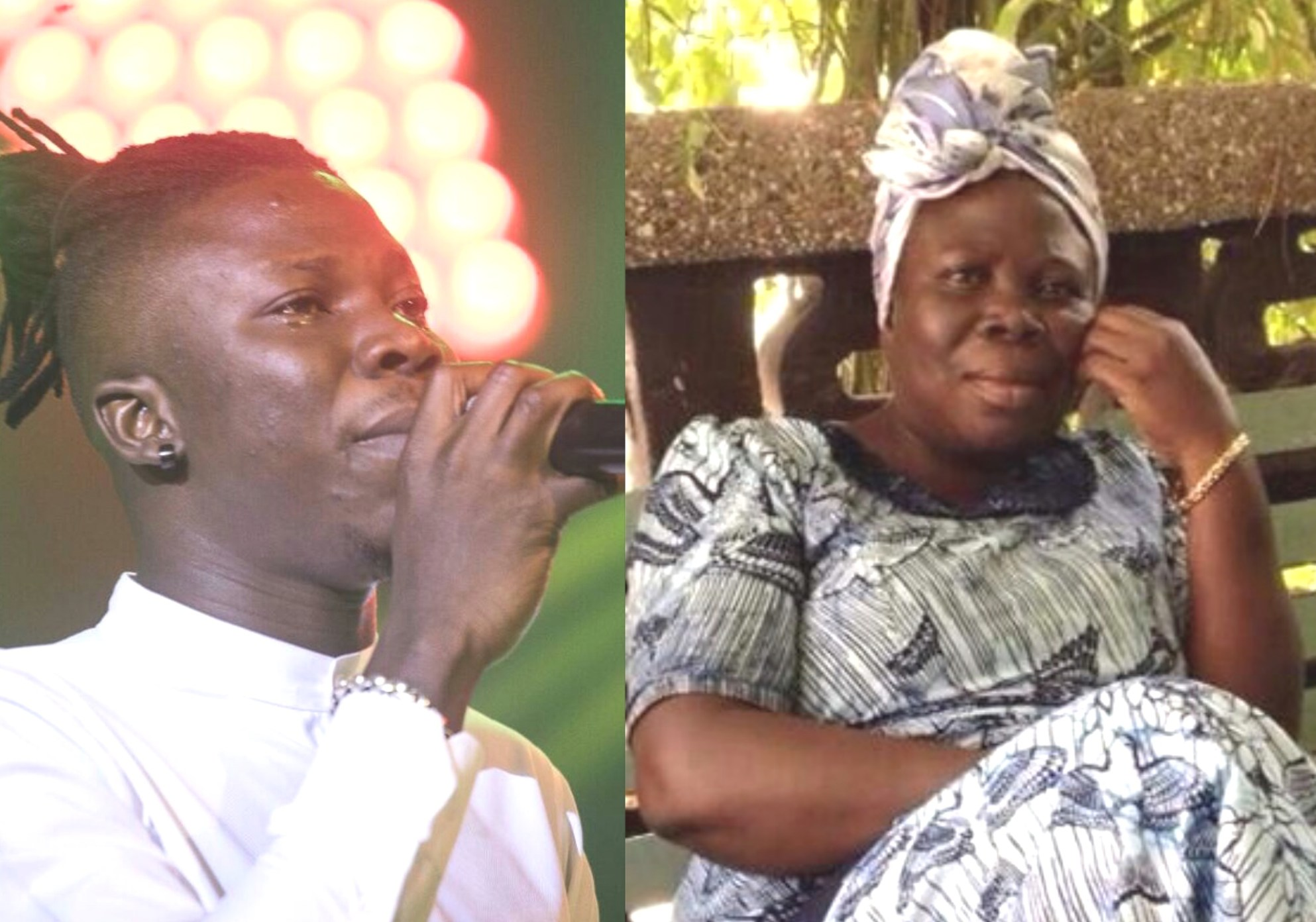Stonebwoy And Mother