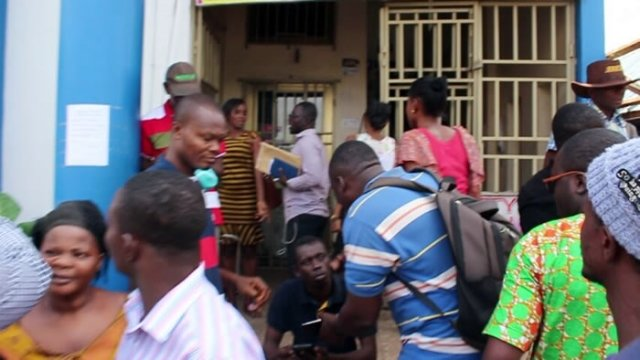 Angry Customers Of Nduom's Gold Coast Fund Management Storm Offices For Their locked Money