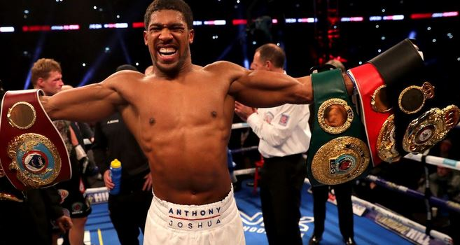 Despite All His Millions Of Dollars, Checkout Anthony Joshua Tiny Crib And Filthy Chairs [VIDEO]