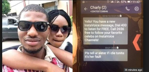 Family of girlfriend to KENPOLY graduate who committed suicide speak out