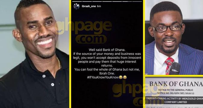 I Feel Bad For Menzgold Customers Who Have Hope Of Getting Their Money-Ibrah One