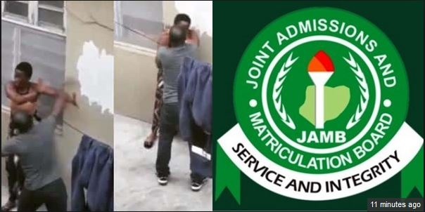 Video: JAMB Lesson Teacher Seen Physically Assaulting One Of His Female Student