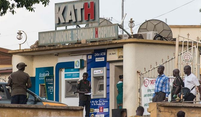 Komfo Anokye Hospital traps 'staff thieves' with CCTV Cameras