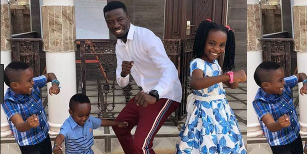Kwaku Manu shows off his adorable children in new photo