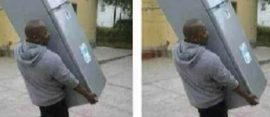 Man Seizes Fridge He Bought For Girlfriend After Catching Her Cheating