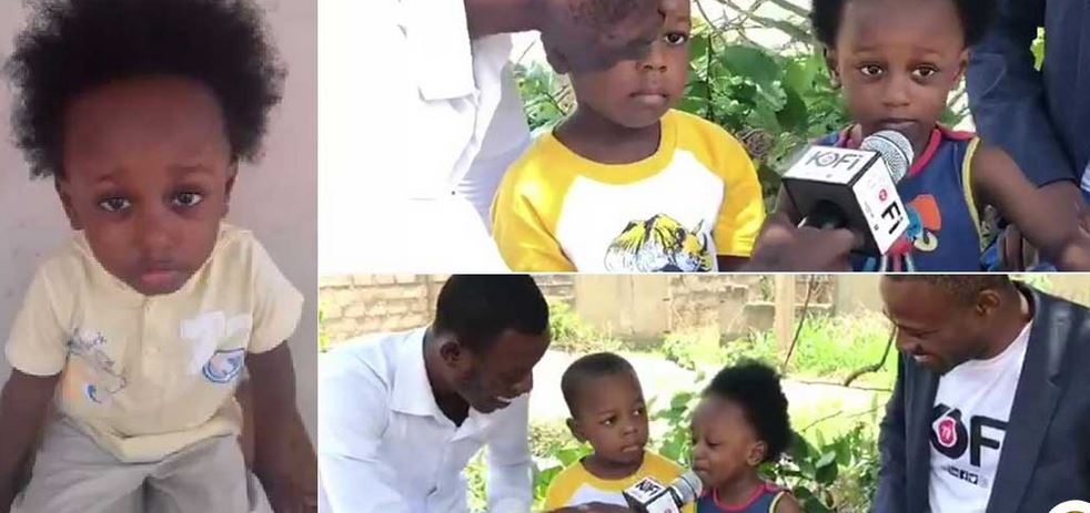 Meet two-year-old Ghanaian boy who knows more than his age