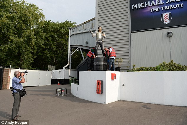Michael Jackson Statue Removed From National Football Museum Amid Sex Abuse Claims