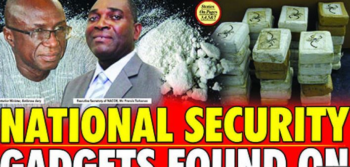National Security Gadgets Found On Drug Traffickers