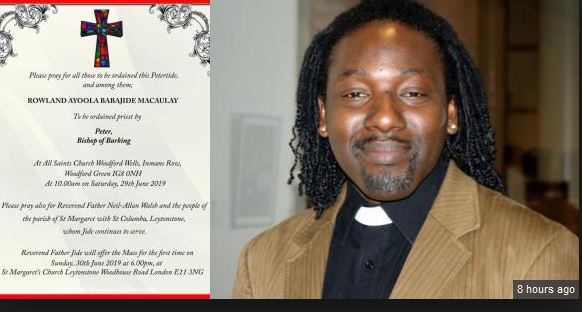 Nigerian Gay Man Set To Be Ordained As Anglican Priest