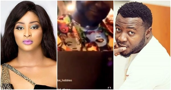 Nigerian comedian Etinosa completely undresses self on MC Galaxy's IG live