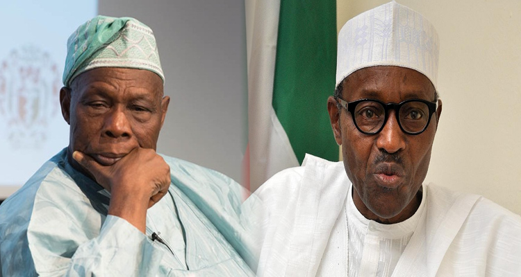President Buhari SNUBS Obasanjo's 82nd Birthday… HE REACTS!!!