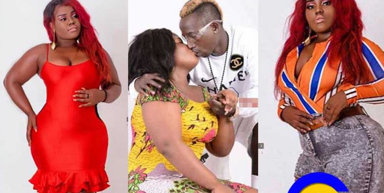 Queen Peezy heartbroken after video of Patapaa kissing white lady popped up