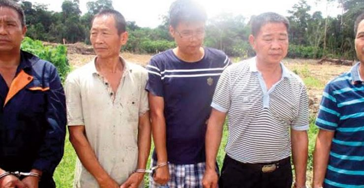 Seven Chinese Galamsey Operators Arrested In Separate Operations
