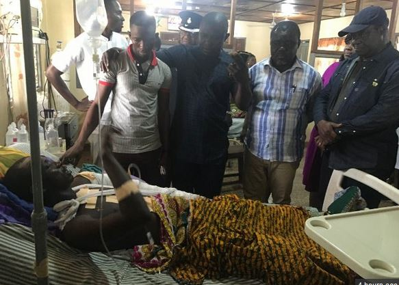 Kintampo accident: Speeding driver was 'in a hurry to pick okro sellers' – Survivor