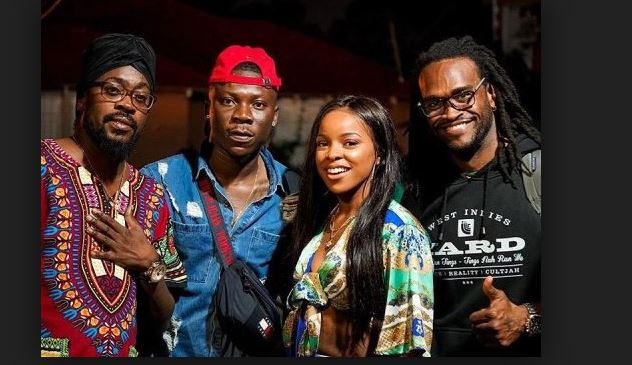 Stonebwoy announces International collaboration with world Legend, Beenie Man
