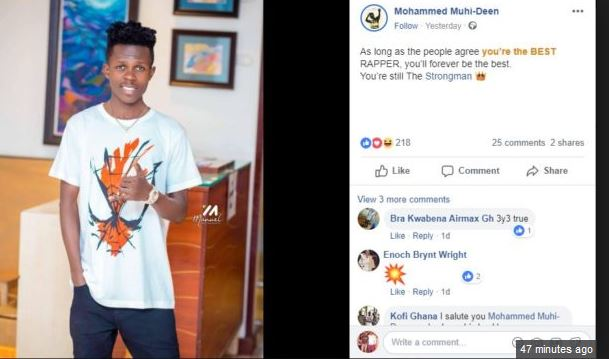 Strongman's manager blasts VGMA board for failing to nominate Strongman